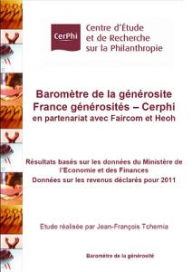 CERPHI - Baromètre de la générosité